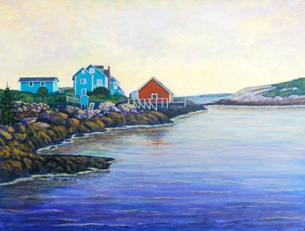 Morning Has Broken (Peggy's Cove, NS)